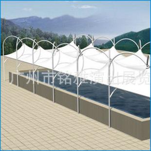 大额批发 钢结构车棚膜结构  膜结构材料