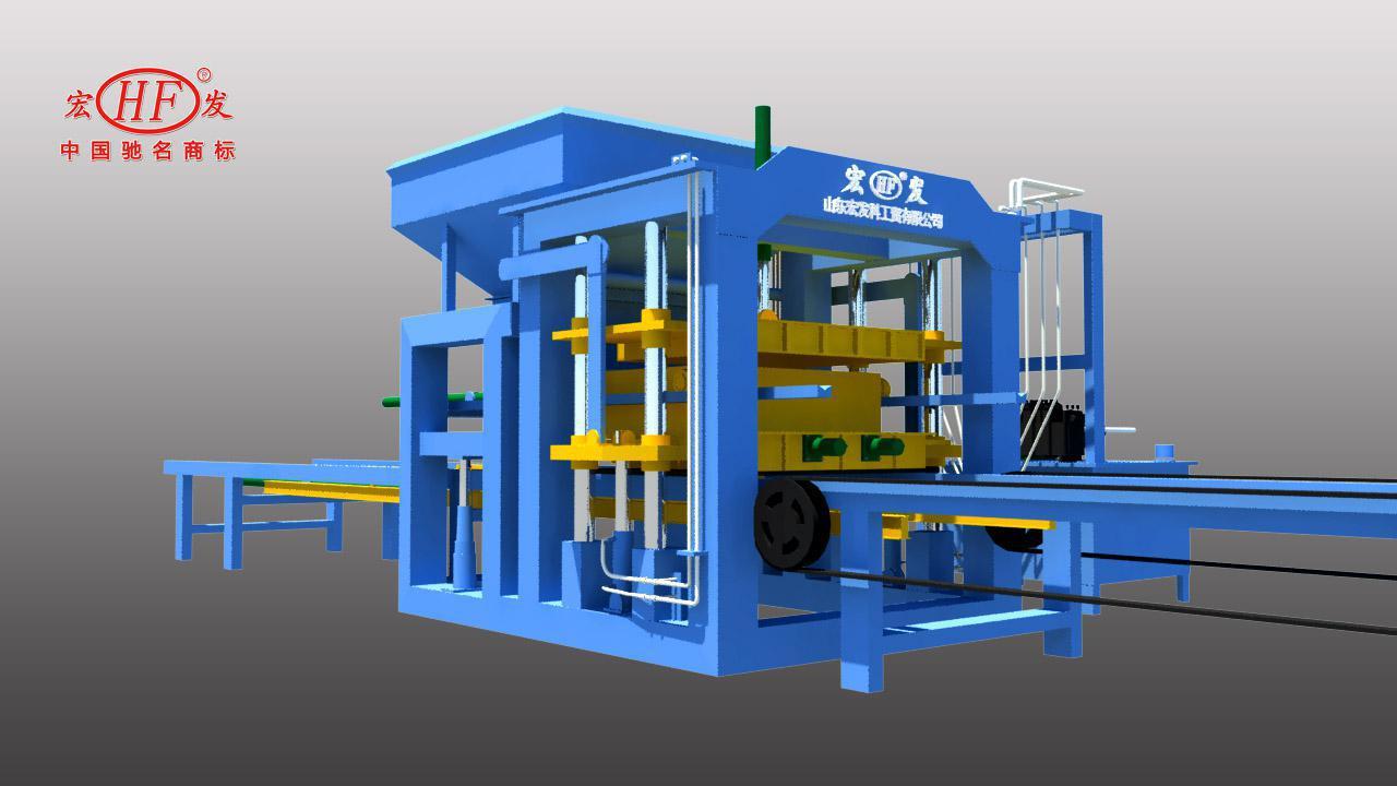 厂家直销 自保温设备 自保温生产线 山东宏发自保温砌块设备