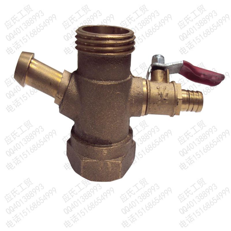 三缸柱塞泵30/40/52/60型打药机配件,四通混药器,混液器,自动回水