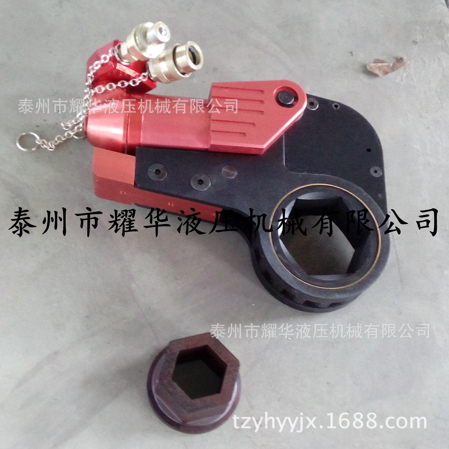 铝钛合金40HLHT中空式液压扳手 YK液压扭力扳手 力矩扳手厂家直销