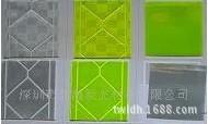 反光材料厂家供应高亮EN471达标反光晶格条 pvc反光晶格材料 (图)