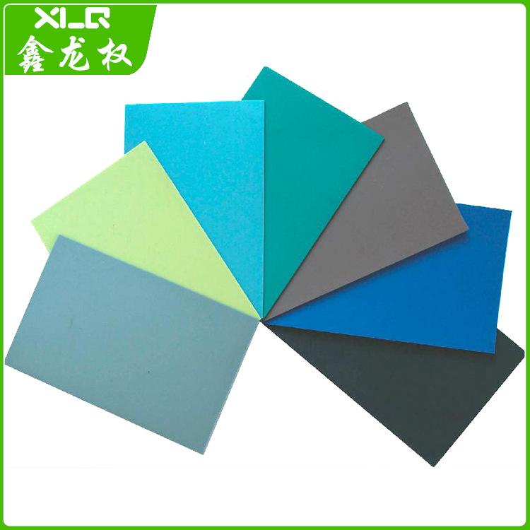 专业供应防静电台垫 0.6*1.2 橡胶防静电台垫 中性多色防静电垫
