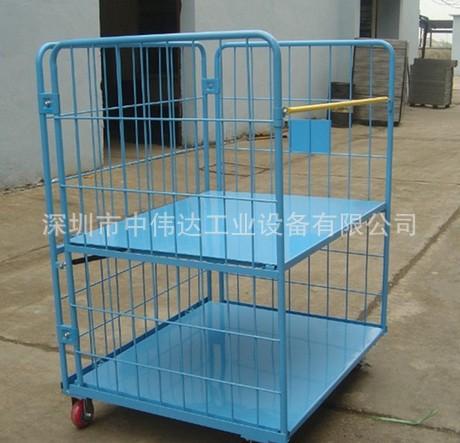 深圳厂家现货供应周转物流台车、沙井笼车、东莞周转物流车