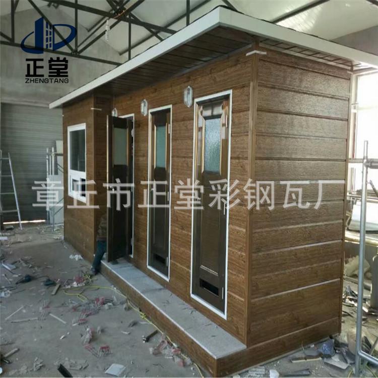 金属雕花板集装箱房用保温板 简易活动房墙体材料 内墙装饰板