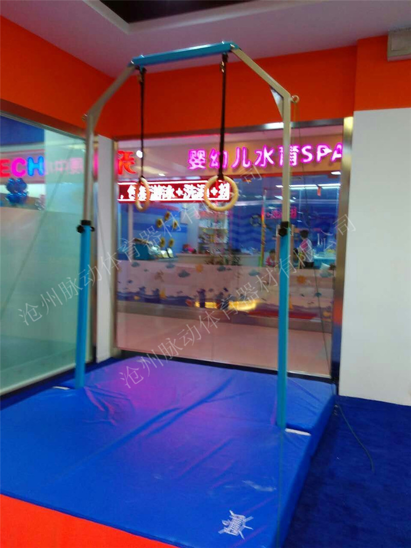 体操训练吊环儿童吊环运动馆吊环 吊环垫子快乐感统训练器材