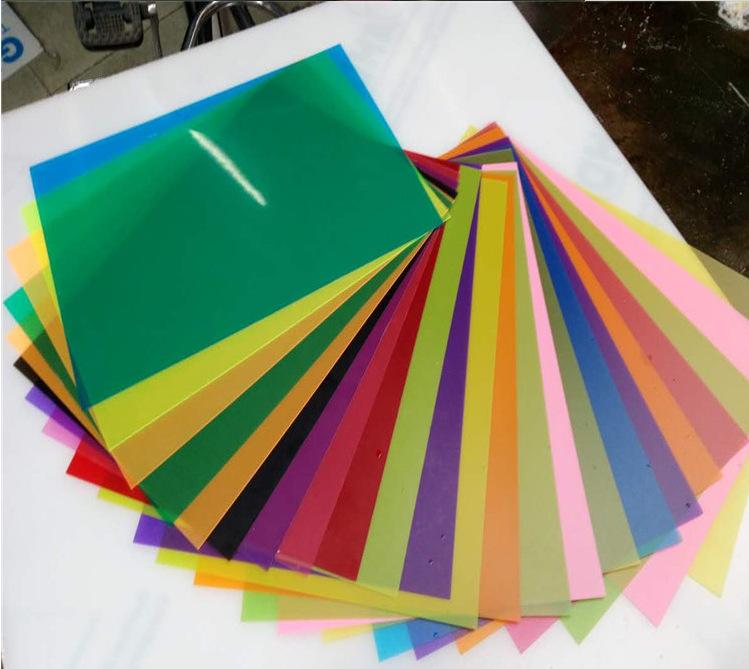 定制彩色PP塑料片 双雾面磨砂PP片材 印刷使用PP卷 厂家直销货物