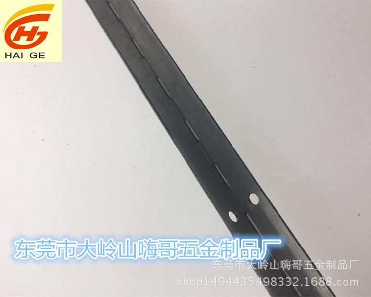 厂家直销定做不锈钢铰链201长合页304镜面长排铰链长柜门合页
