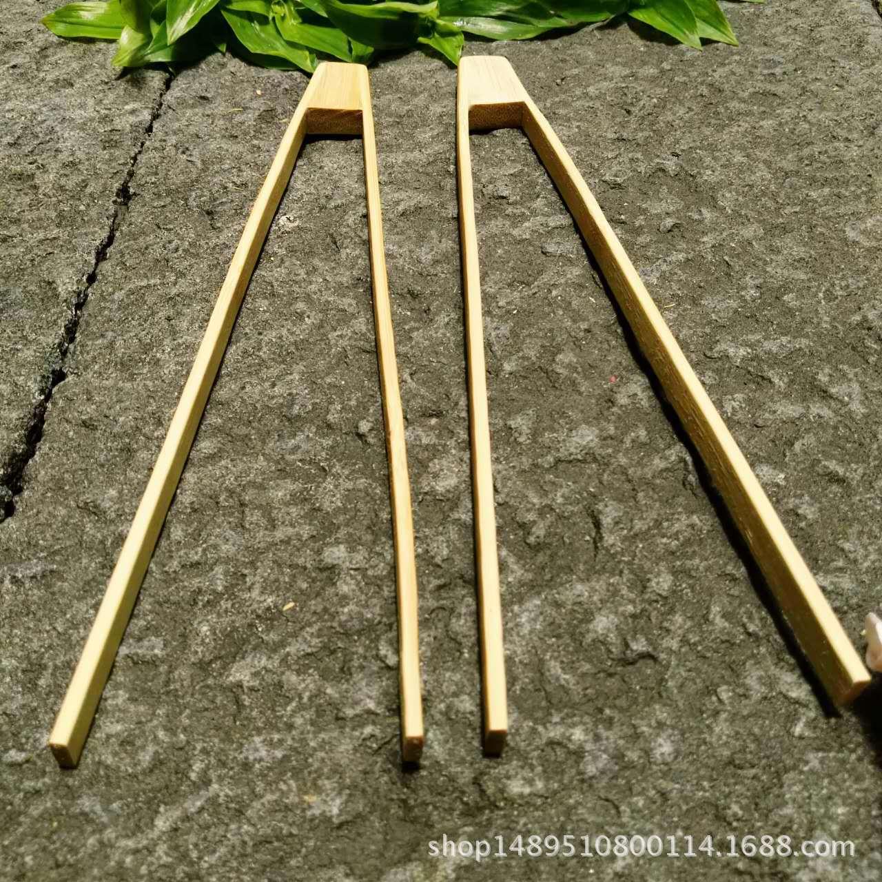 厂家低价直销定制各类竹制品 面包夹竹勺调羹饭勺