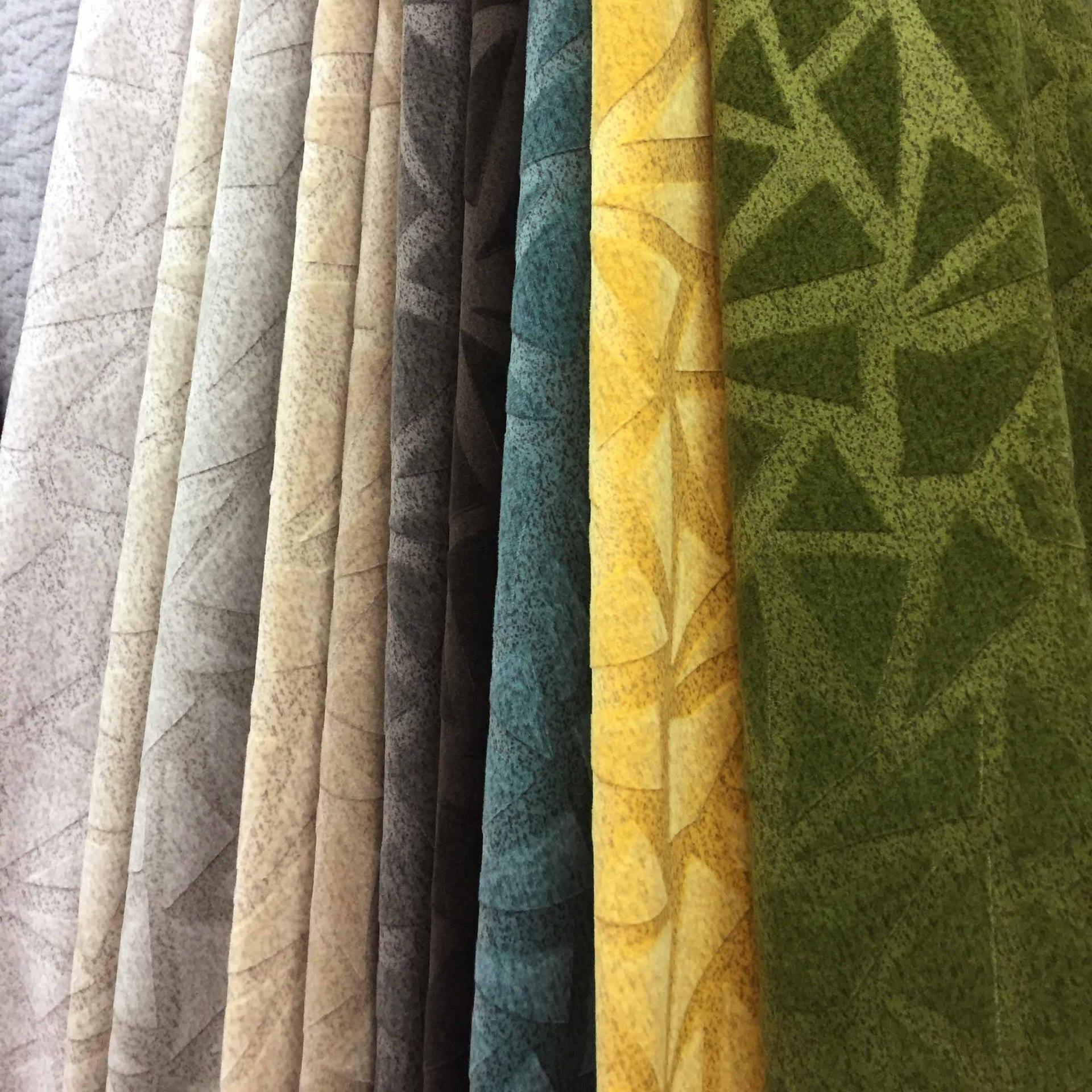 厂家直销2018新款荷兰绒科技绒沙发面料桌布抱枕装饰布复合布