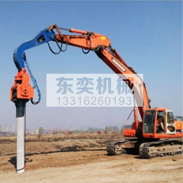 9米钢板桩预制桩打桩锤械