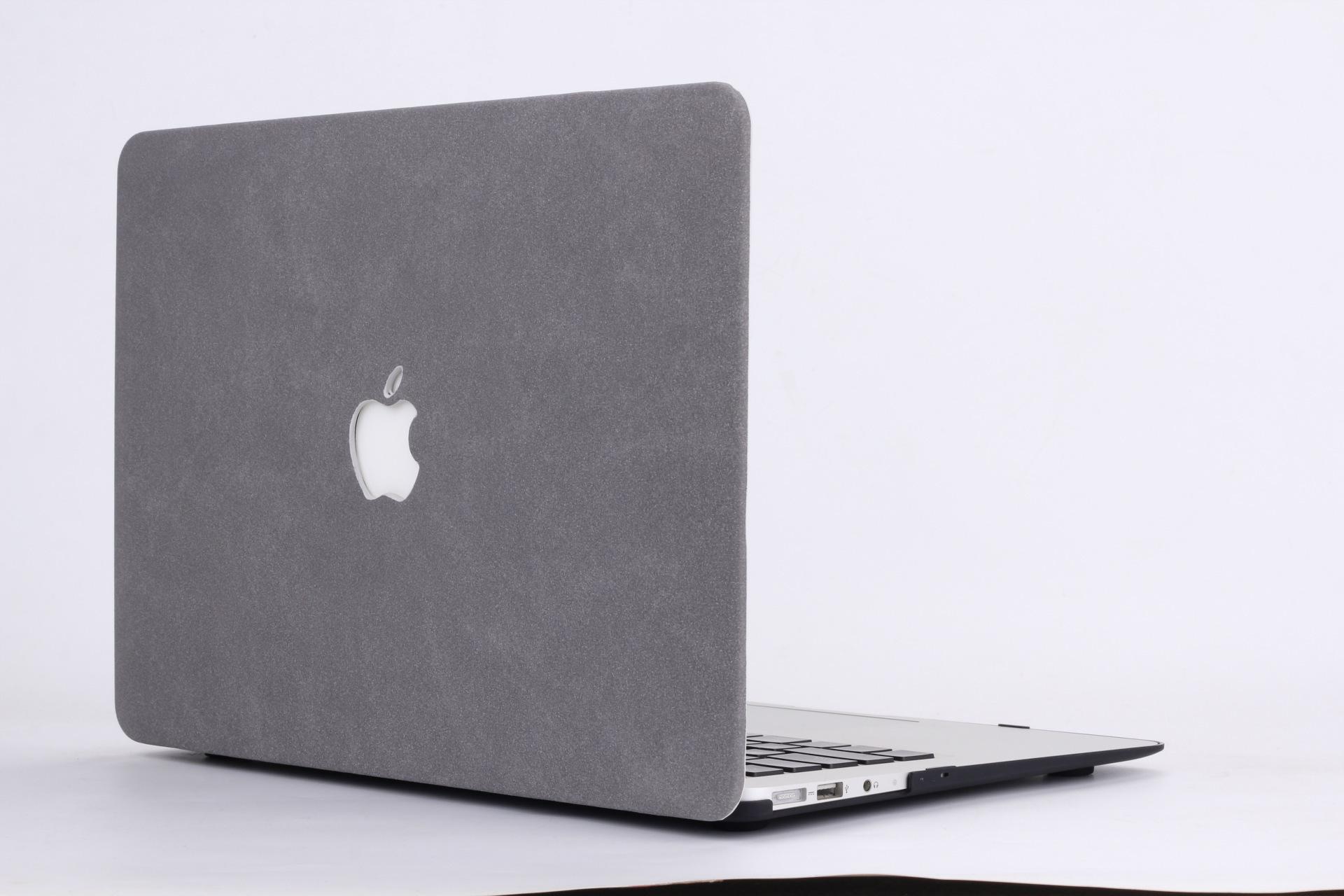 爆款 苹果笔记本Macbook保护壳 Air/Pro11 13 15寸羊羓 亚麻皮壳