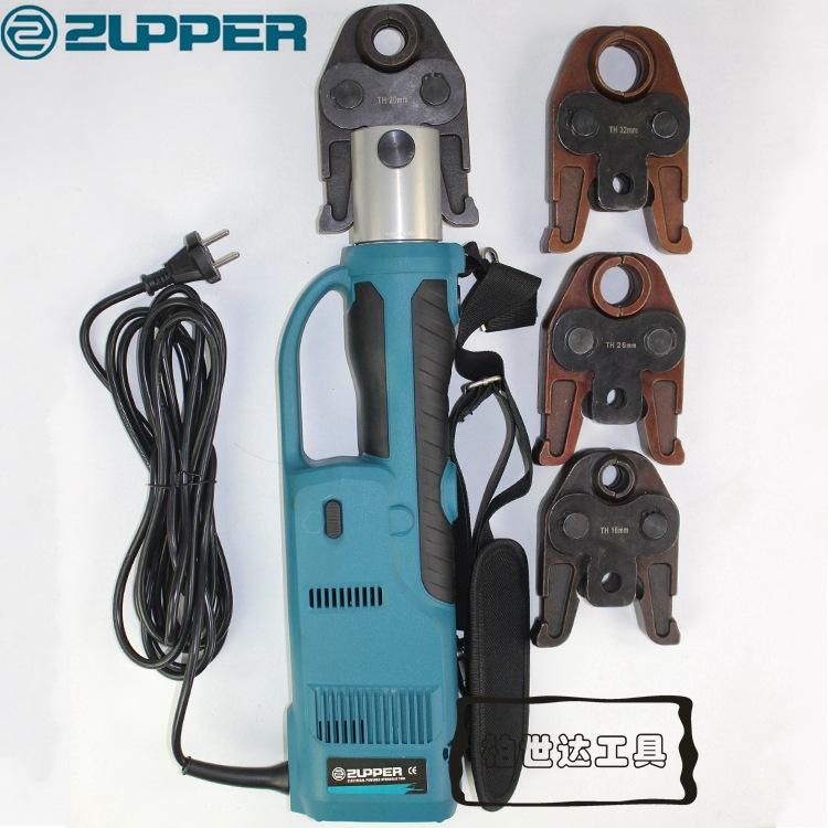巨力CZ-1550插电式电动压管钳卡压钳 铜不锈钢管PEX铝塑管铝卡套