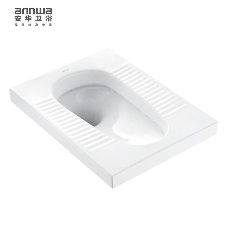 annwa/安华卫浴 带存水弯陶瓷蹲便器aLD5329