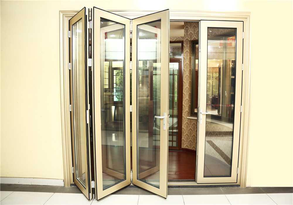 全开铝合金折叠窗,隐形窗,安居门专业生产