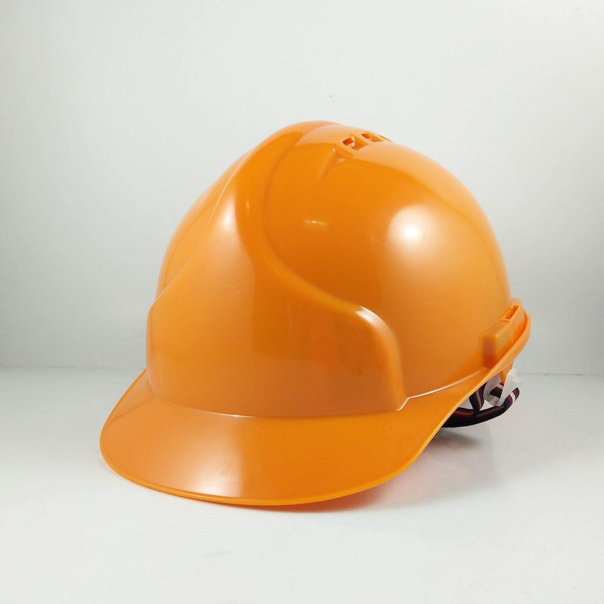 厂家9999工地防护帽塑料头盔PE安全帽太阳帽定制工程帽建筑领导带