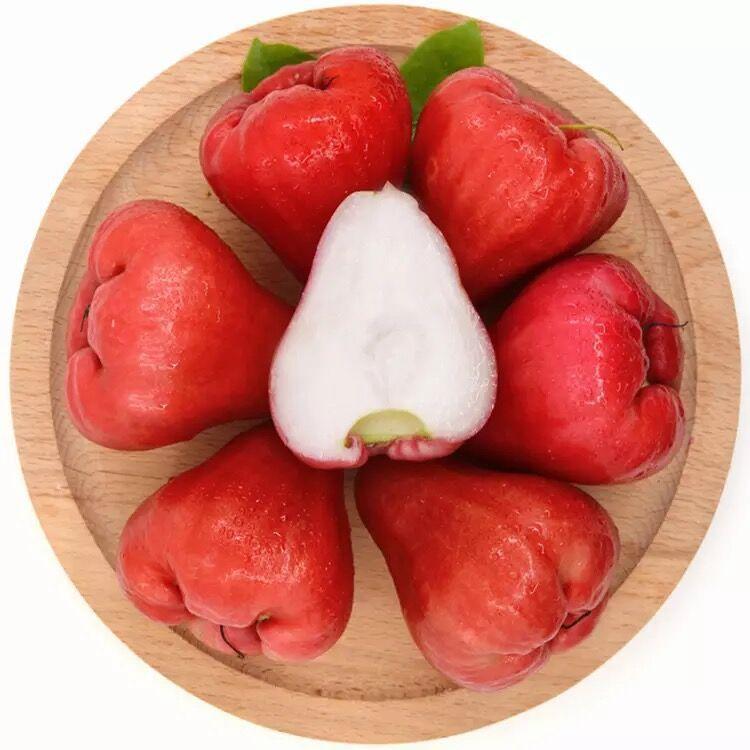 新鲜水果莲雾果3斤/5斤 海南三亚特产雾莲果热带水果批发包邮