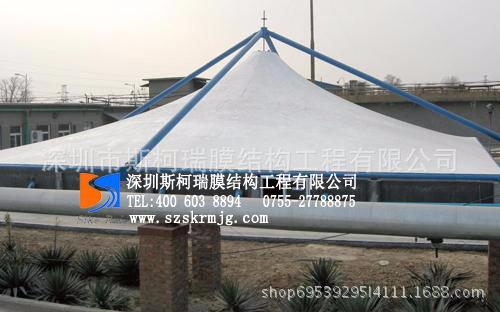 斯柯瑞 制药厂污水处理加盖 环保膜结构材料