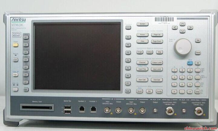 现货供应日本安立MT8820C手机综测仪 MT8820A无线通信分析仪