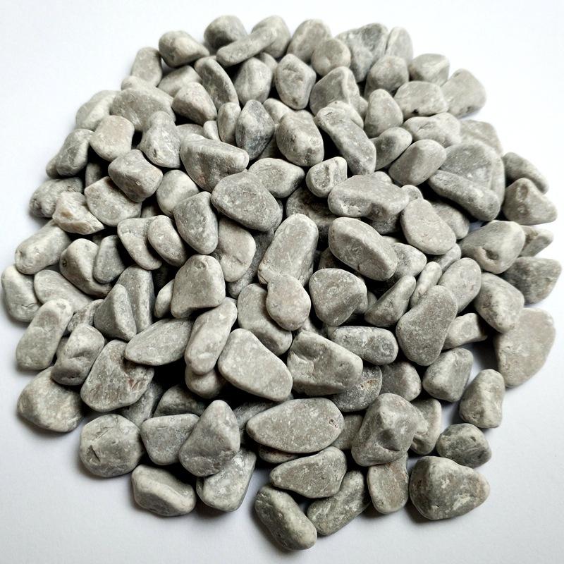 灰色水洗石透水石胶粘石子骨料海绵城市园林景观铺路砾石洗米石