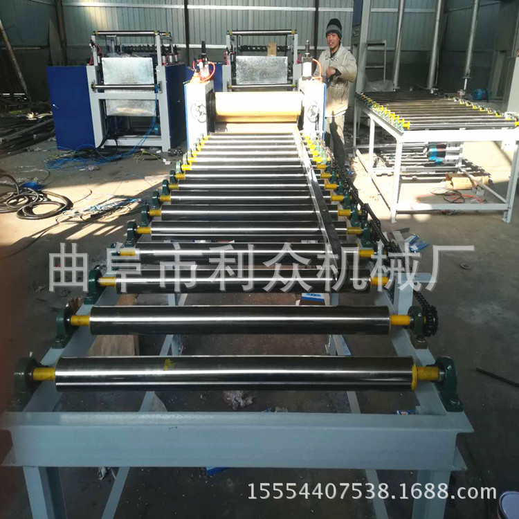 曲阜PVC波音板装饰面贴纸机免漆板全自动贴纸机性能稳定价格低