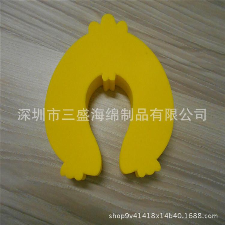 专业生产定制 彩色EVA门卡 EVA安全门夹 泡棉制品