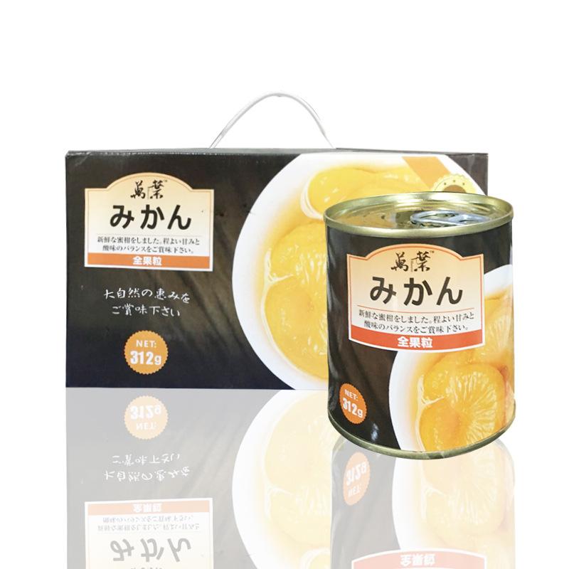 厂家直销 萬业黄桃罐头3120g*8罐/箱 休闲食品批发
