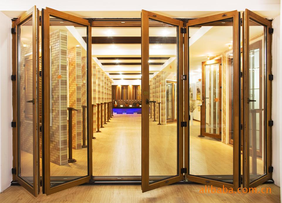 森鹰折叠窗、落地折叠窗、纯木窗、纯木折叠窗、折叠门