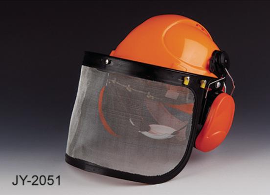 防噪音防爆面屏/防护面具/电焊面罩安全帽耳罩防爆面罩三件套