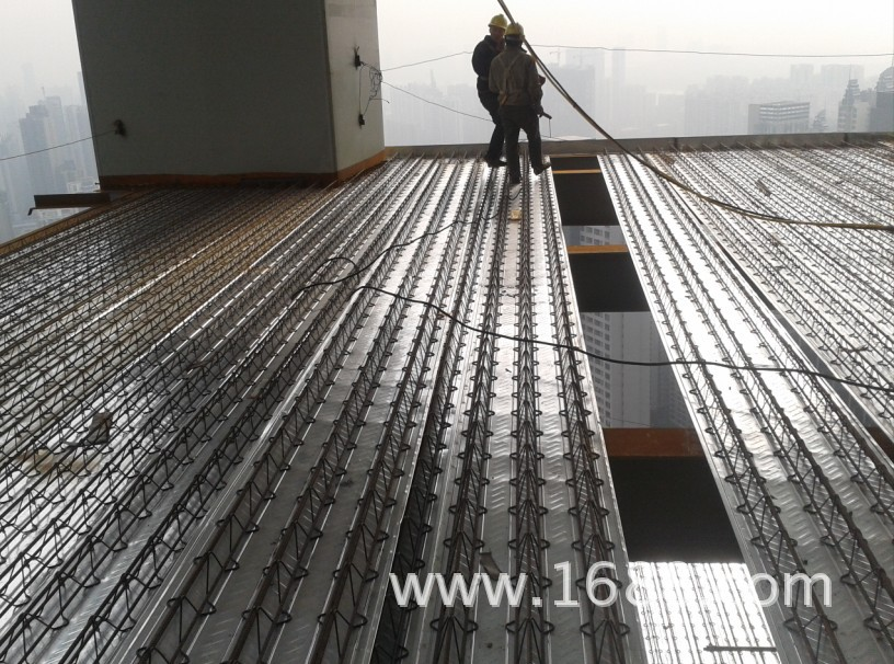 steel bar truss decking instal