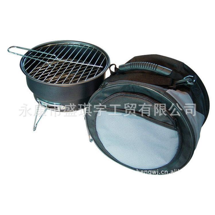 出口热销 木炭冰包户外烧烤炉 保温包套装烧烤架 方便携带烧烤箱
