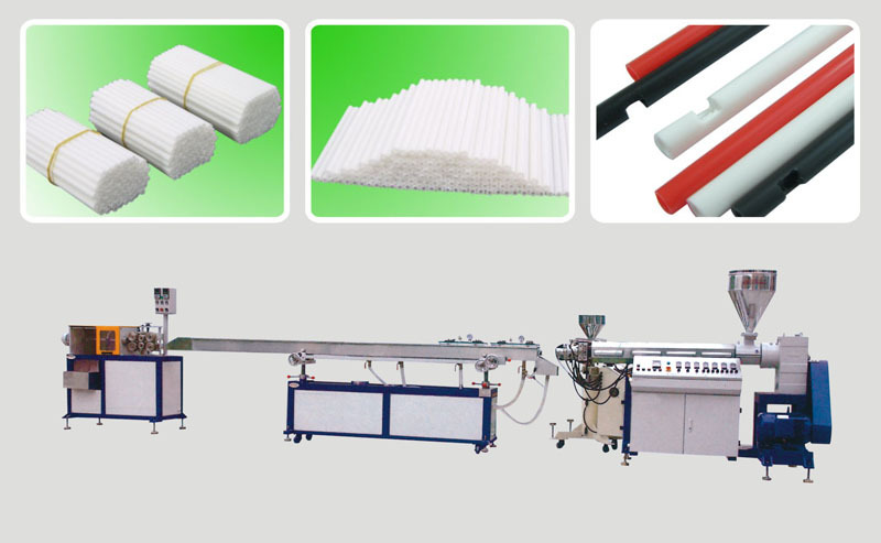 广州市笔芯油管挤出机 笔芯管生产设备厂家 工业精密pp管挤出机