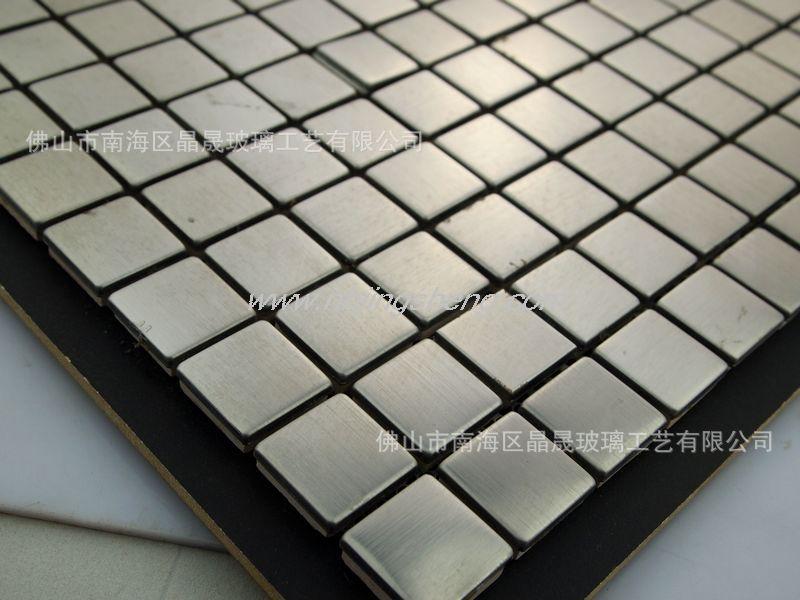 【厂家直销】佛山马赛克 低价原色金属马赛克 玻璃马赛克 jsm-637